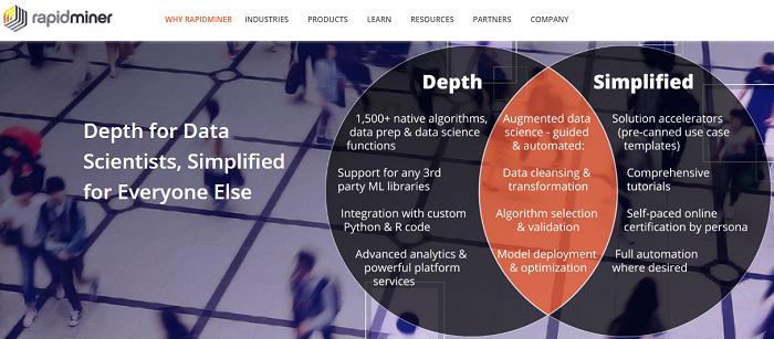 RapidMiner data mining framework